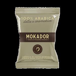 MOKADOR - CÁPSULAS - 100 ARÁBICA