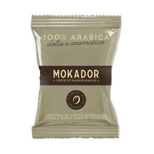 MOKADOR – CÁPSULAS – 100 ARÁBICA