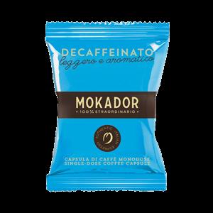 MOKADOR - CÁPSULAS - DECAFFEINATO